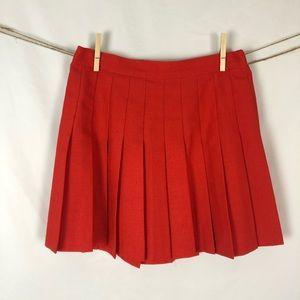 Vintage 80s Pleated Mini Skirt